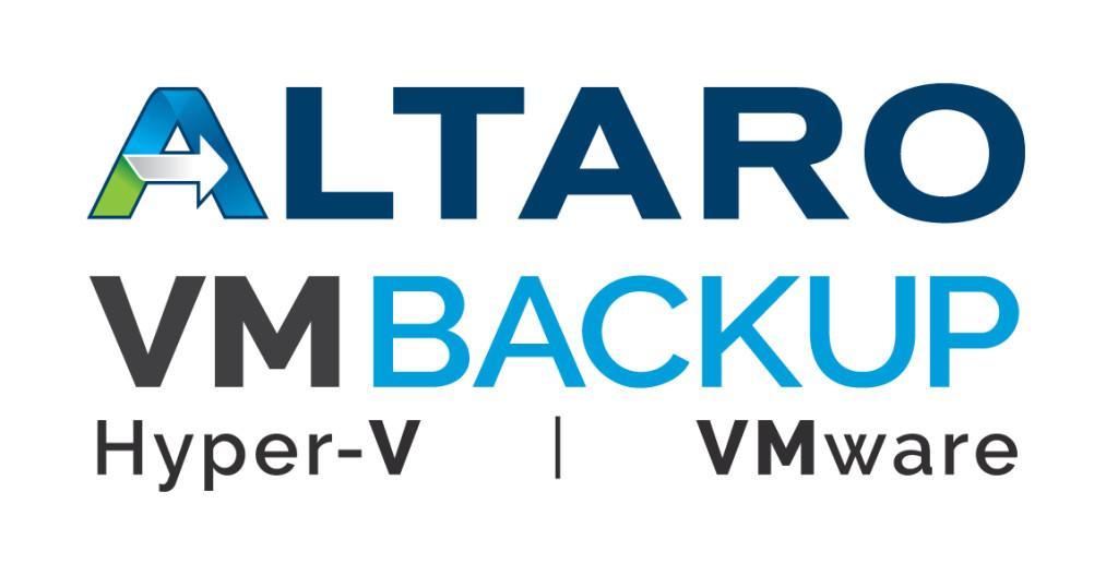Altaro VM Backup: резервное копирование виртуальных машин Hyper-V и VMware - 2