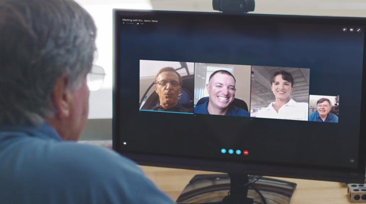 Microsoft представила сервис Skype Meetings