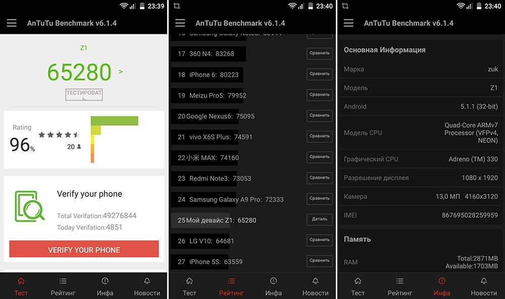 Обзор смартфона ZUK Z1: мощность и автономность по доступной цене - 8