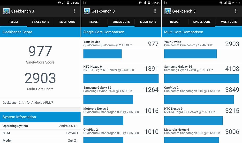 Обзор смартфона ZUK Z1: мощность и автономность по доступной цене - 9
