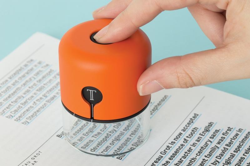Spector: миниатюрный сканер для идентификации шрифтов и точного копирования цвета - 1