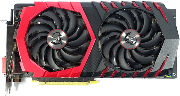 MSI GeForce GTX 1060 Gaming X, коробка