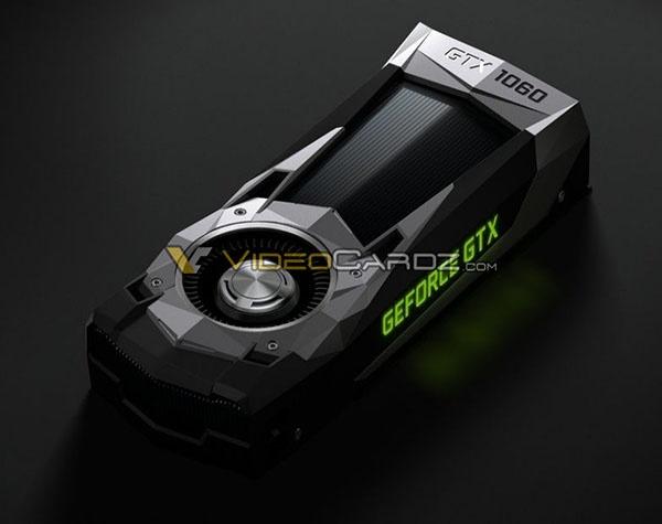 Опубликованы официальные изображения 3D-карты Nvidia GeForce GTX 1060 - 6