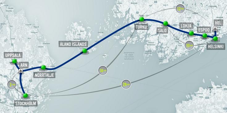 Hyperloop One считает, что постройка 1 км линии Hyperloop в Европе обойдётся в 16 млн долларов