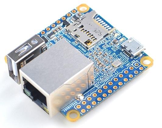 Плата FriendlyARM NanoPi NEO имеет малые габариты, ценой которых стал отказ от видеовыходов