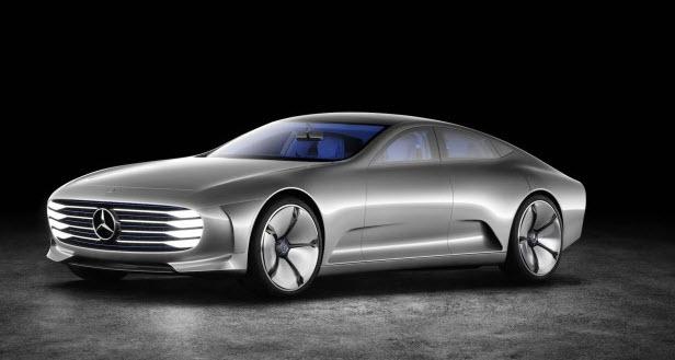 Mercedes покажет конкурента Tesla Model S раньше срока