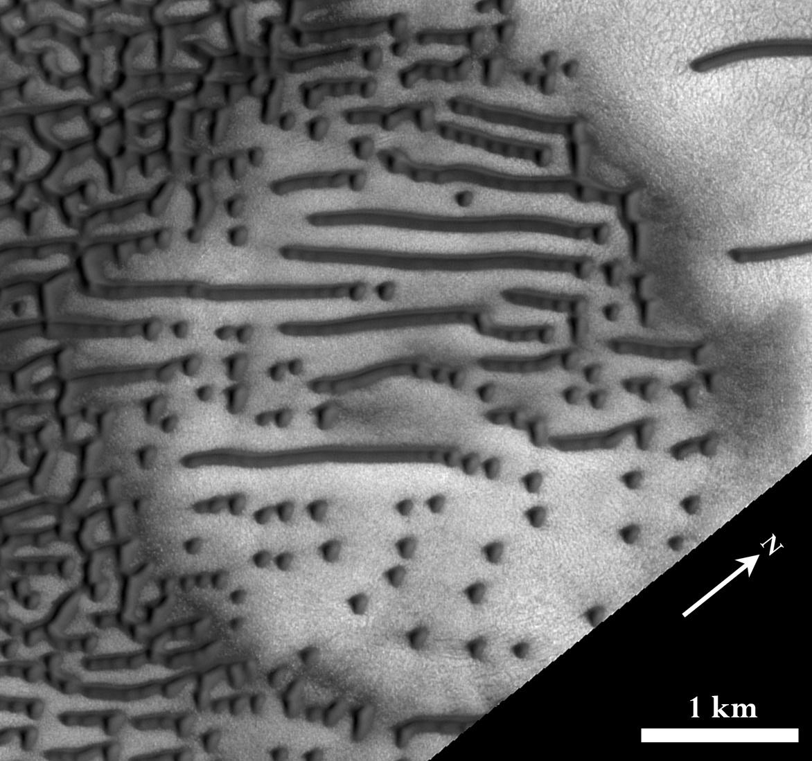Азбука Морзе на марсианских дюнах - 1
