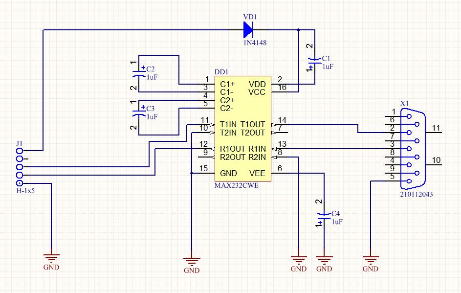 Как «чайник» делал UART <-> RS232 конвертер для Orange Pi - 19