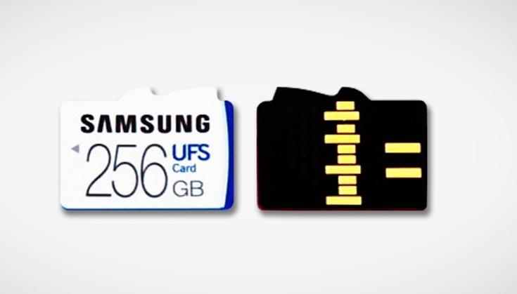 Карты памяти UFS всё-таки можно будет использовать вместе с microSD