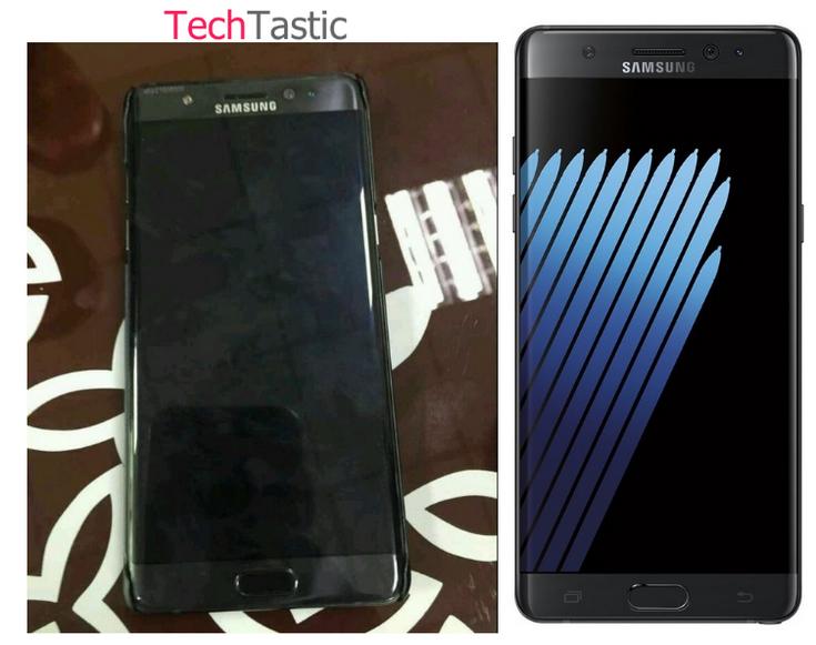 Внешность смартфона Samsung Galaxy Note7 больше не является секретом
