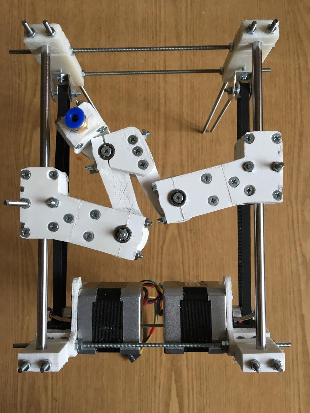 DeltaXY механика для 3д принтера - 3