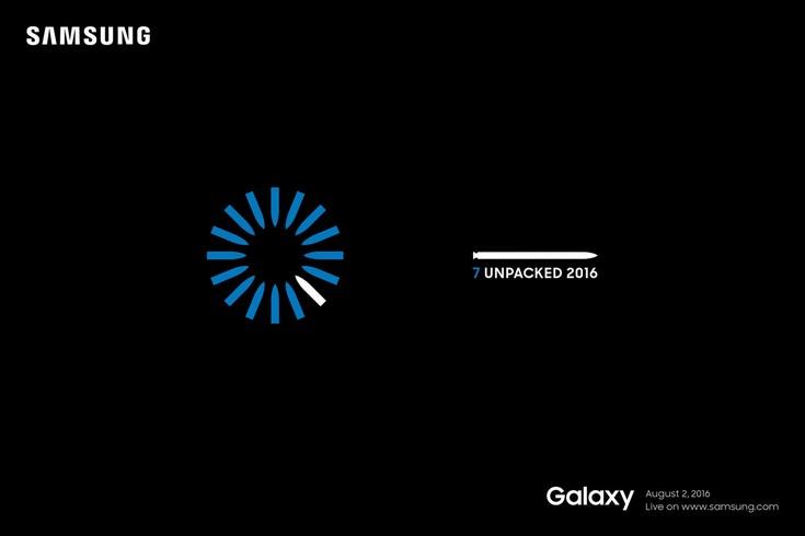 Смартфон Samsung Galaxy Note7 действительно анонсируют раньше обычного