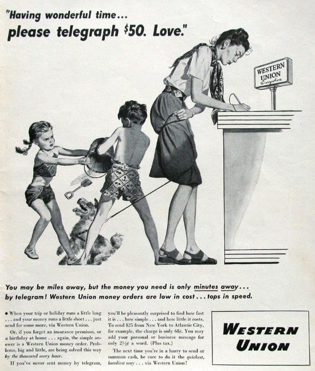 Western Union: от голоса великого Маниту в проводах до крупнейшей компании по трансферу денег - 1