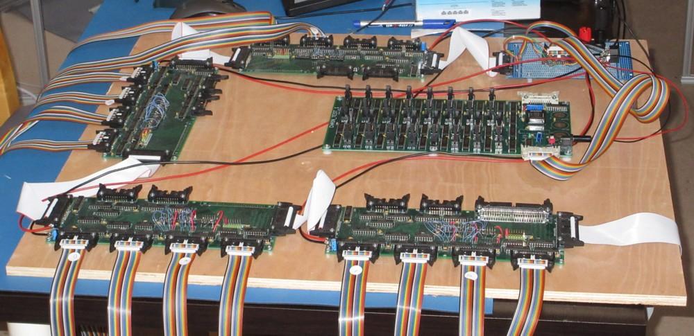 Британский инженер построил 500-килограммовый процессор из дискретных элементов. Этапы работы и интервью с создателем - 11