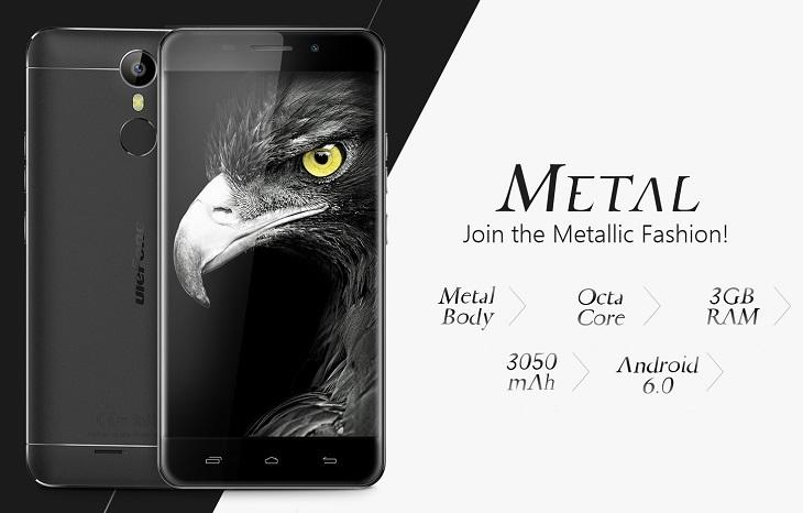 Cмартфон Ulefone Metal попадет в ценовой сегмент до $150