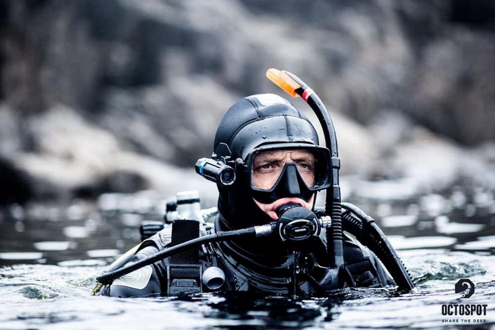Проект экшн-камеры для дайвинга «Octospot» с возможностью съемки на глубинах до 200м успешно стартовал на Kickstarter - 1