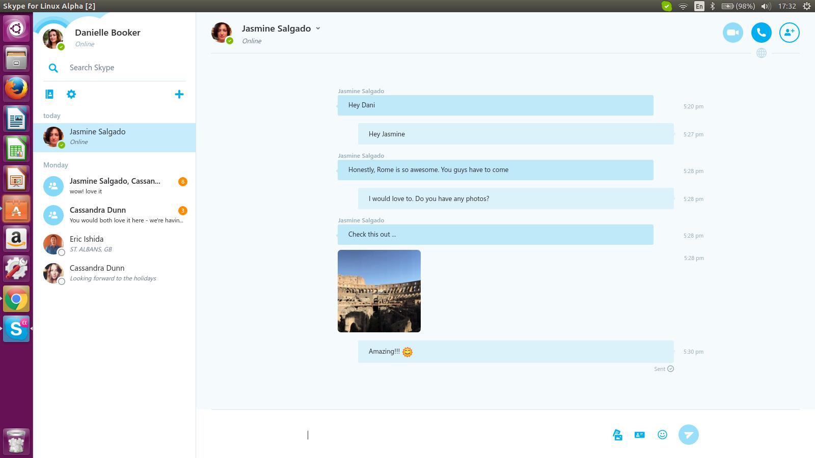 Вышел новый клиент Skype для Linux (+веб-клиент) - 2