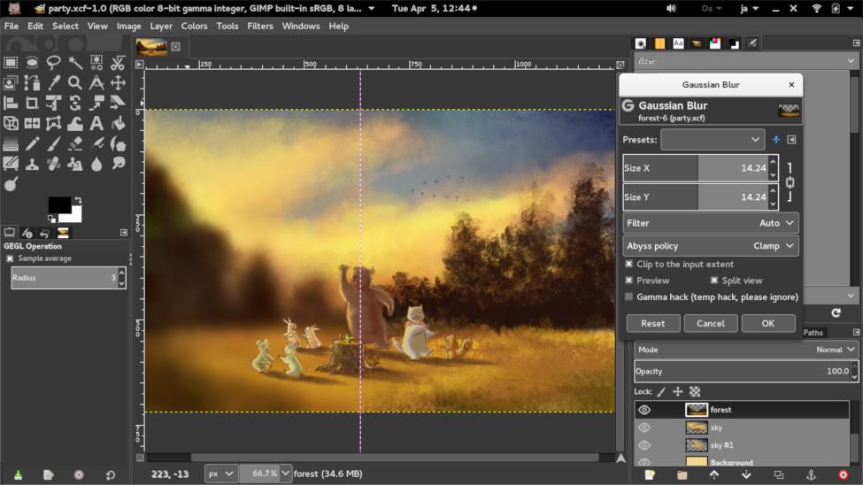 Вышел GIMP 2.9.4 - 4