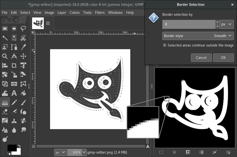 Вышел GIMP 2.9.4 - 7