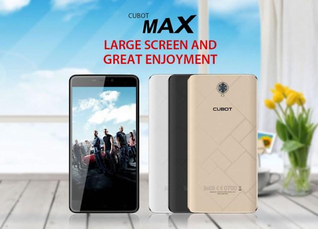 Шестидюймовый смартфон Cubot Max появится на рынке в августе
