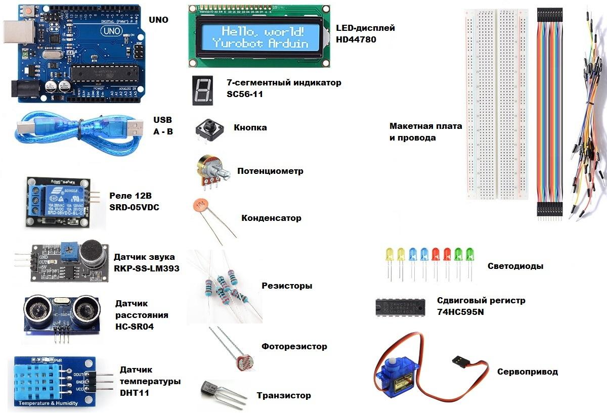 Бюджетный стартовый набор Arduino - 1
