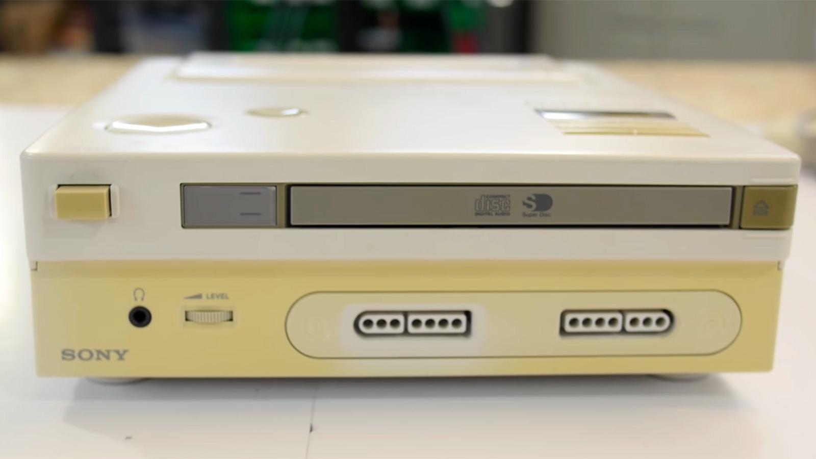 Для так и не появившейся на рынке Nintendo PlayStation выпущена самописная игра - 2