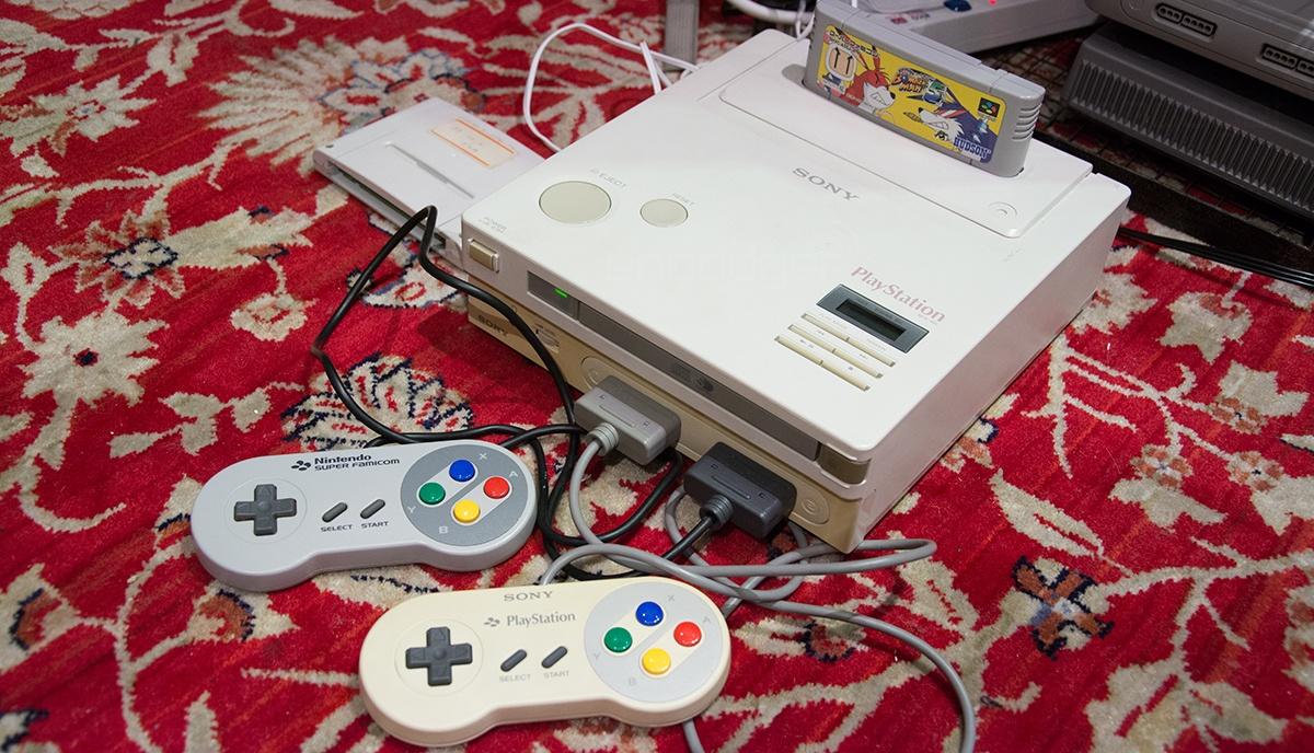 Для так и не появившейся на рынке Nintendo PlayStation выпущена самописная игра - 1