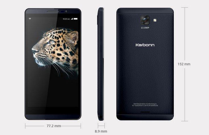 Смартфон Karbonn Quattro L55 HD оснастили 2 ГБ ОЗУ