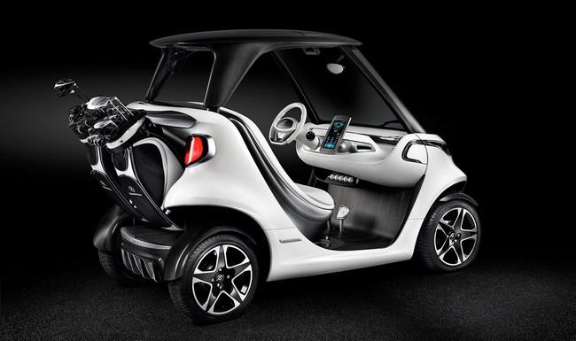Mercedes-Benz представила спортивный автомобиль для гольфа