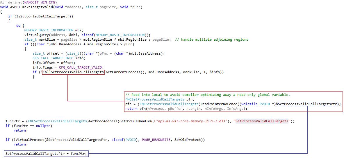 Control Flow Guard. Принцип работы и методы обхода на примере Adobe Flash Player - 24