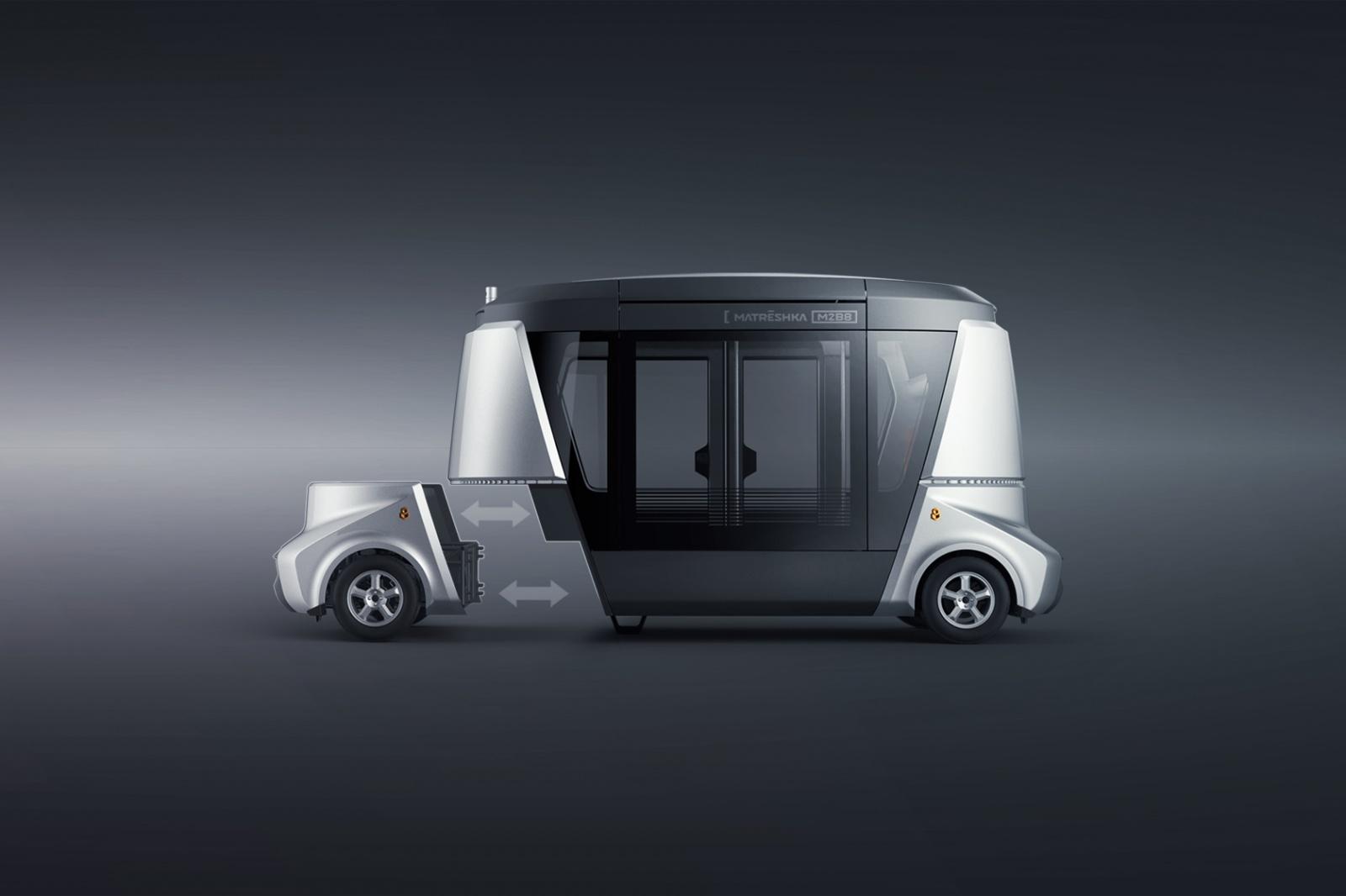 MATRЁSHKA – модульная система беспилотного коммерческого транспорта - 3
