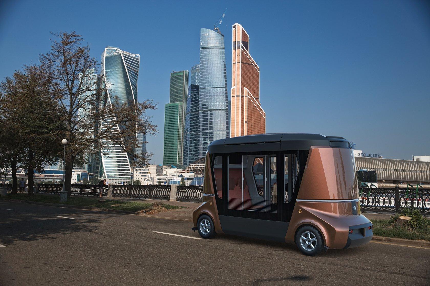 MATRЁSHKA – модульная система беспилотного коммерческого транспорта - 4