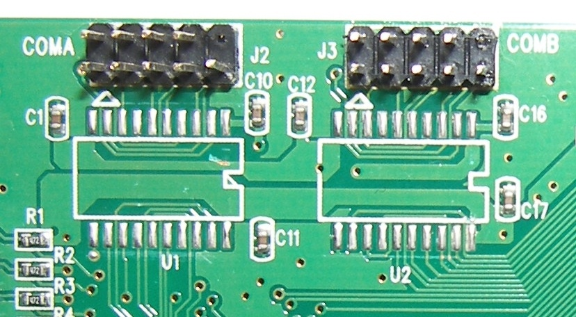 Адаптеры сопряжения RS-422 с поддержкой скоростей до 1Мбод для системной шины PCI - 17