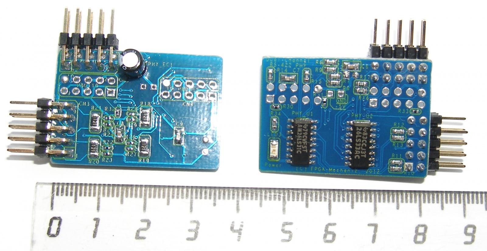 Адаптеры сопряжения RS-422 с поддержкой скоростей до 1Мбод для системной шины PCI - 22