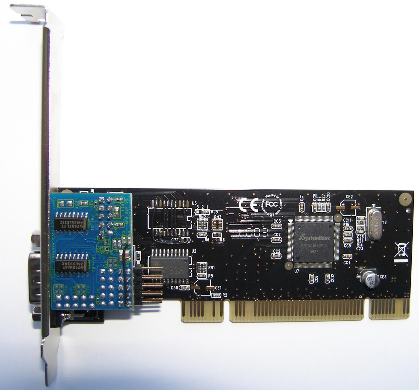 Адаптеры сопряжения RS-422 с поддержкой скоростей до 1Мбод для системной шины PCI - 28