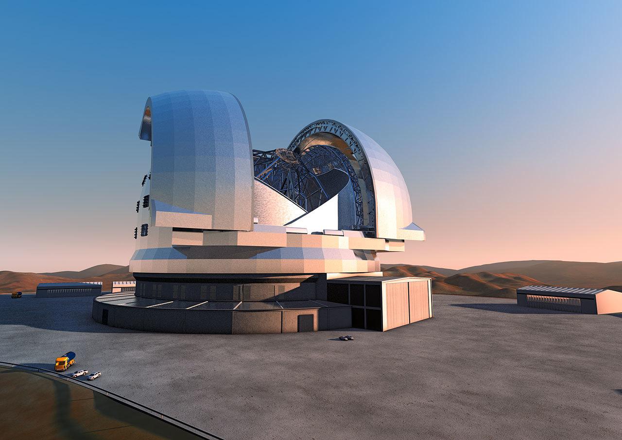 Обзор новых больших телескопов - 7