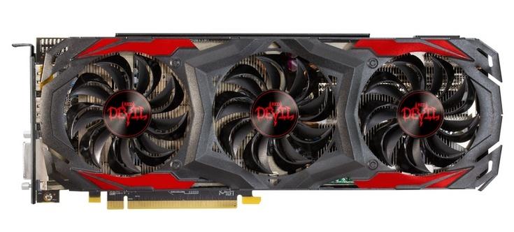3D-карта  PowerColor Red Devil RX 480 работает не на столь высоких частотах, как предполагалось