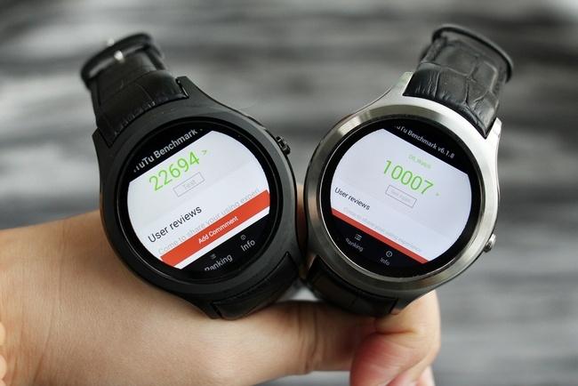 Умные часы No.1 D5+, оснащенные 1 ГБ ОЗУ, набирают в тесте AnTuTu более 23 000 баллов