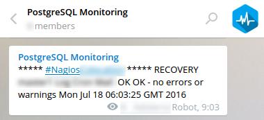 Мониторинг проектов с помощью месенджера на примере Nagios и Telegram, с разбором факапов из жизни Highload 24x7 - 6