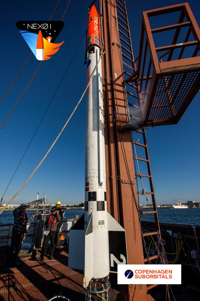 [Обновлено] Copenhagen Suborbitals сегодня запустила очередную суборбитальную ракету - 7