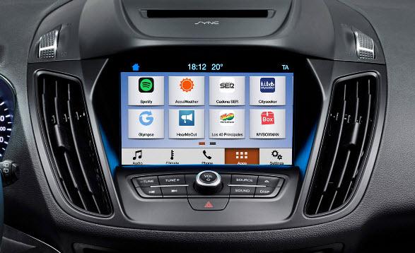 Все автомобили Ford 2017 модельного ряда получат поддержку Apple CarPlay и Android Auto