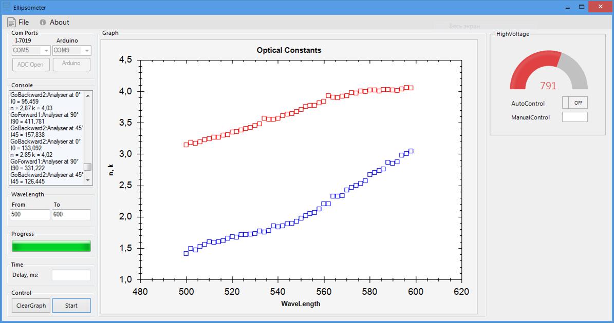 Автоматизация лабораторных измерений - 1