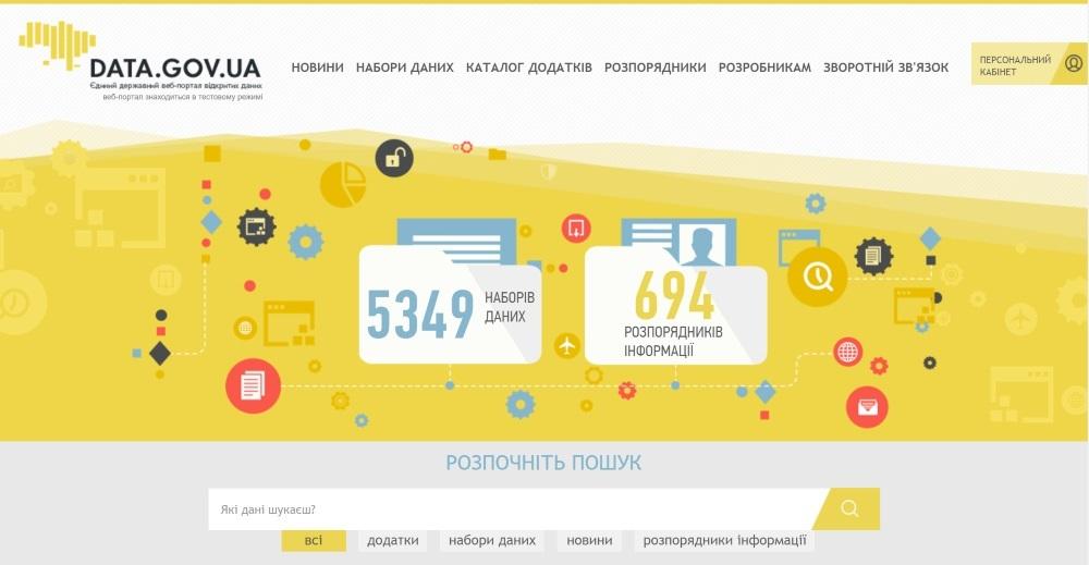 О развитии сферы открытых данных в Украине - 1