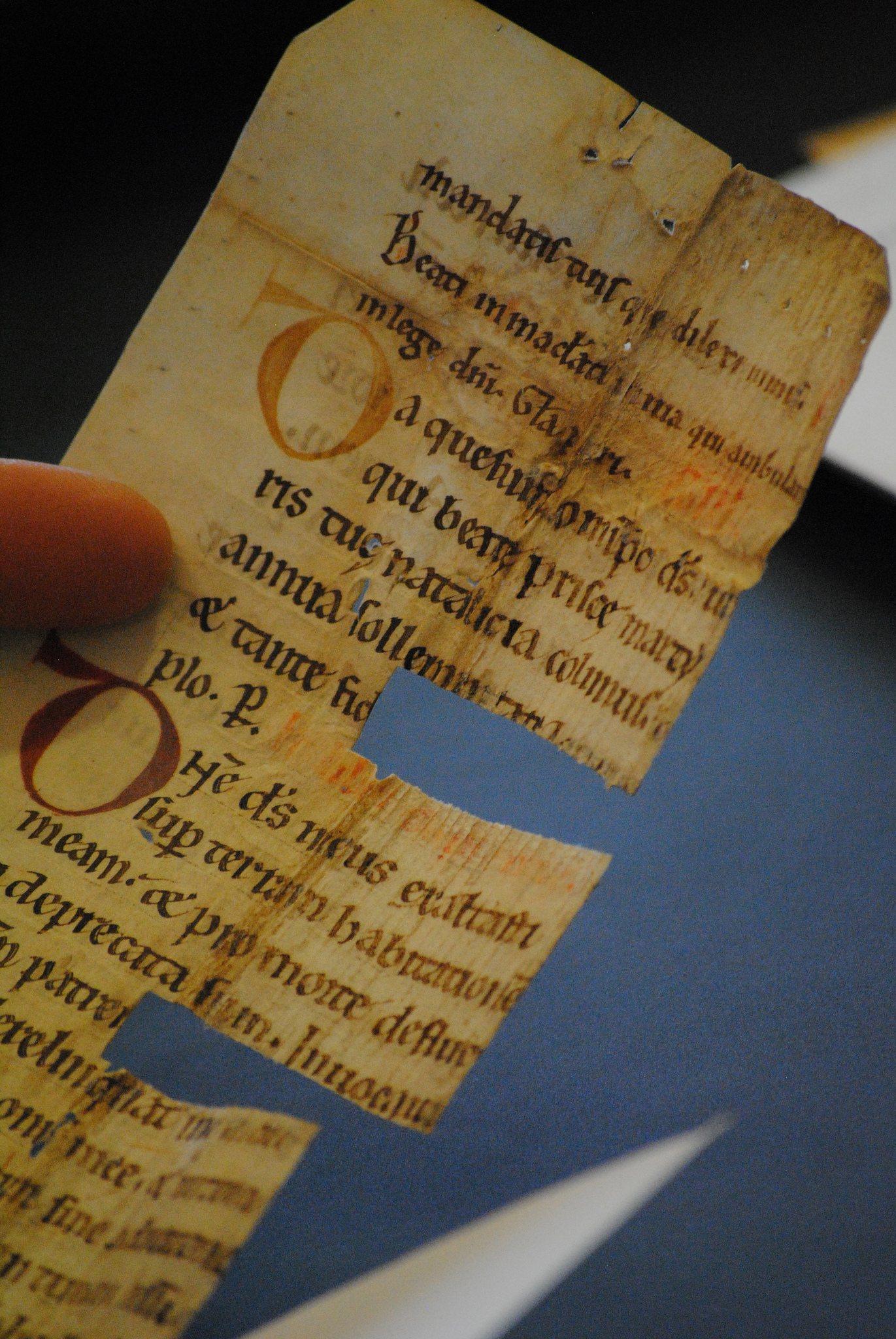 Рентгеновские лучи помогли найти спрятанную средневековую библиотеку - 2