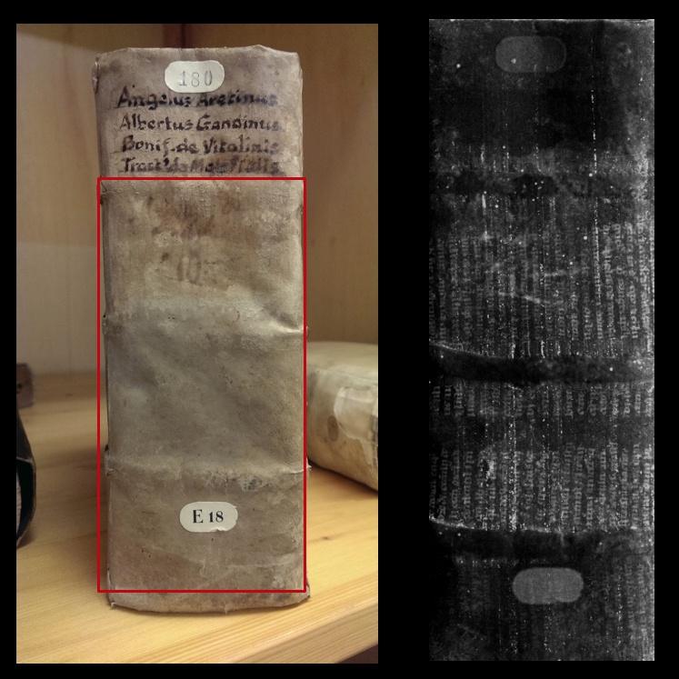 Рентгеновские лучи помогли найти спрятанную средневековую библиотеку - 8