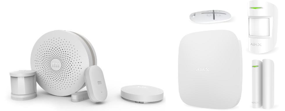 Сравнение беспроводных комплектов сигнализаций Ajax StarterKit и Xiaomi Smart Home Suite - 1