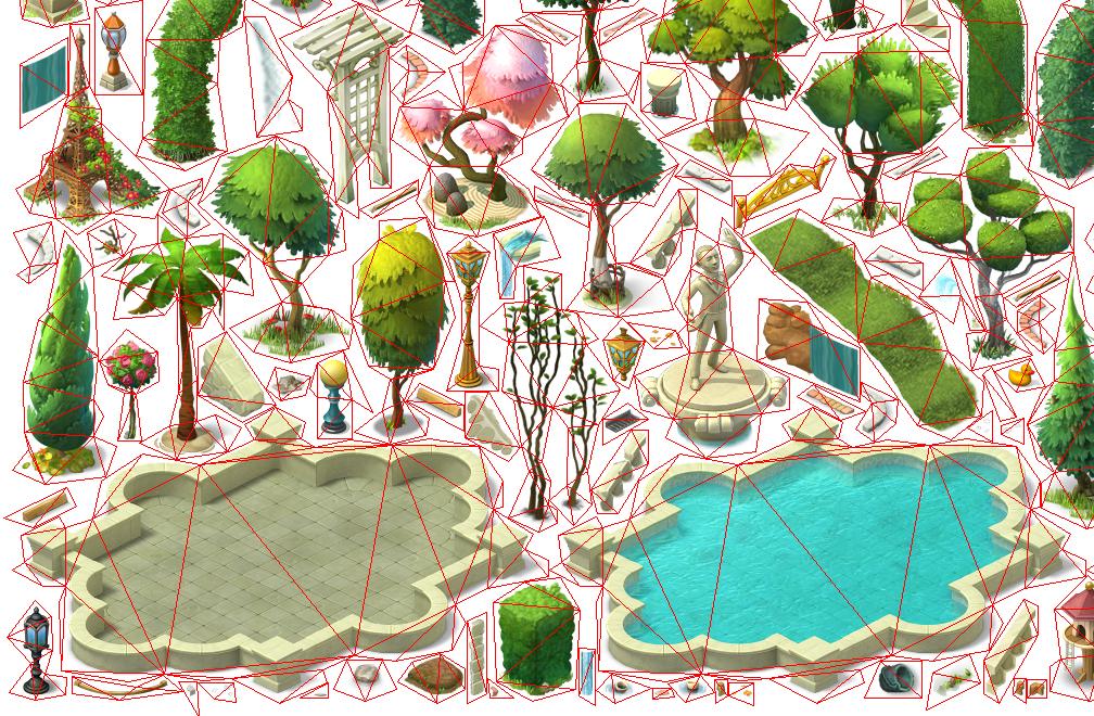 Как оптимизировать игру с помощью полигональных атласов - 4