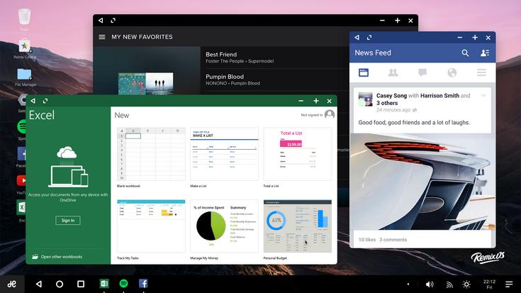 Remix OS перешла на Android 6.0