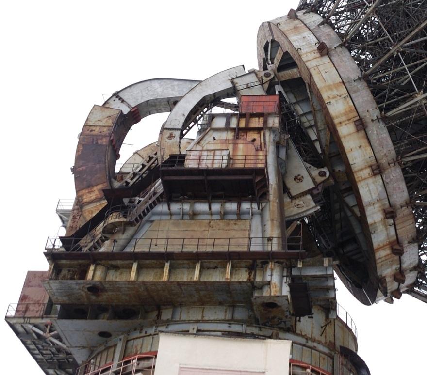 Подзабытый гигант: радиотелескоп ТНА-1500 - 3