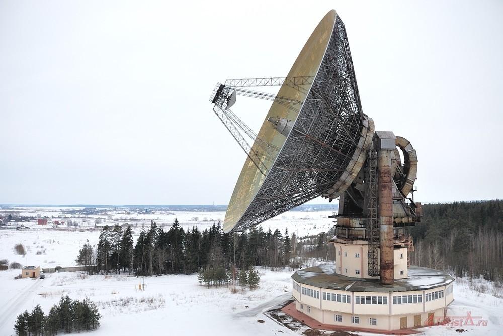 Подзабытый гигант: радиотелескоп ТНА-1500 - 5